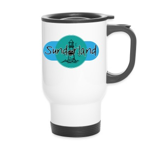 Sunderland Lighthouse Logo! - Travel Mug