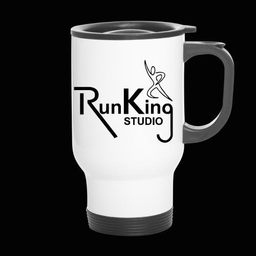 RunKingStudio - Thermobecher mit Tragegriff