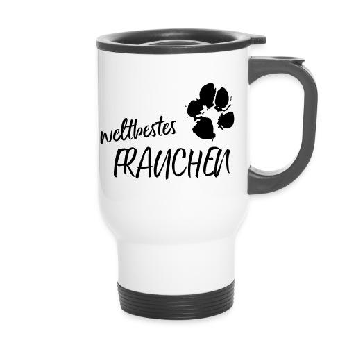 Vorschau: weltbestes Frauchen Pfote Hund - Thermobecher