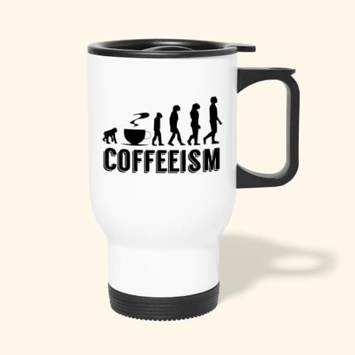 Coffeeism - Thermal mug with handle
