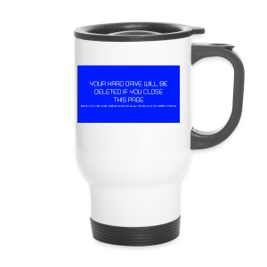 Hard Drive Deleted Notice - Travel Mug