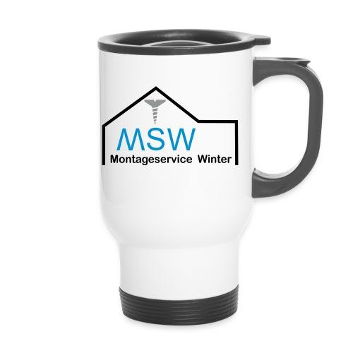 montageservice winter 2 3col neu2 - Thermobecher mit Tragegriff