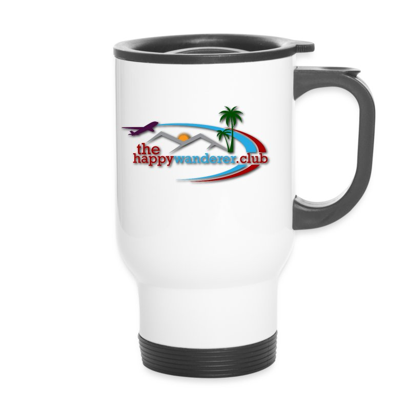 The Happy Wanderer Club Merchandise - Travel Mug