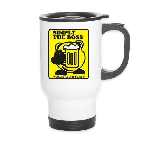 Simply the Boss - Travel Mug