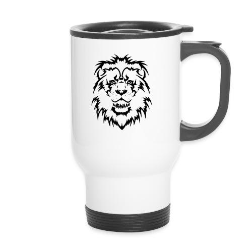 Karavaan Lion Black - Thermo mok