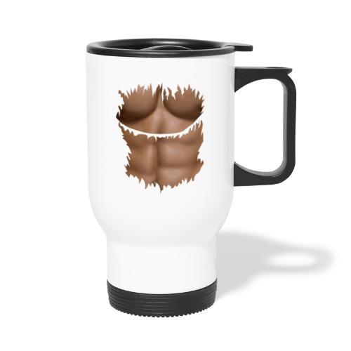 t shirt tablette chocolat abdominaux abdos - Mug thermos