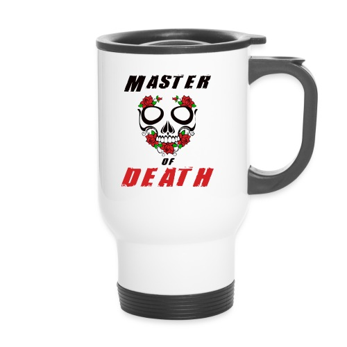 Master of death - black - Kubek termiczny