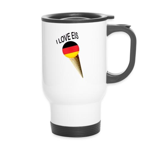 Fußball WM Fan Geschenk - Thermobecher