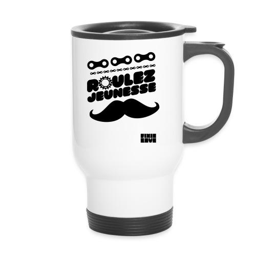 tee-shirt fixie - Mug thermos