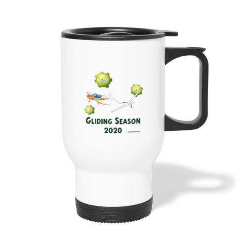 Gliding Season 2020 - drag - Thermal mug with handle