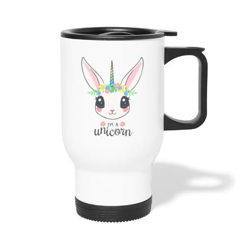 I am Unicorn - Thermobecher mit Tragegriff