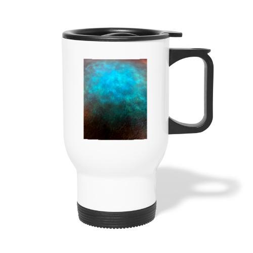 Dyeing leather print design - Thermal mug with handle