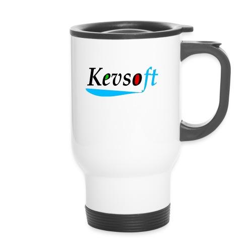 Kevsoft - Thermal mug with handle