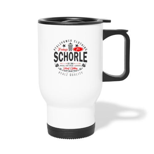 Fridays for Schorle Pfälzer Dubbeglas Parodie - Thermobecher
