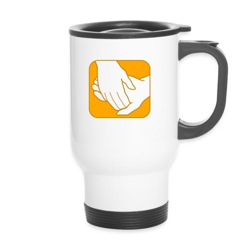 Logo der ÖRSG - Rett Syndrom Österreich - Thermobecher
