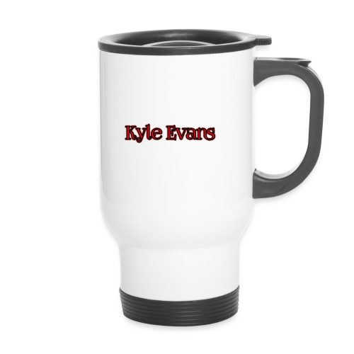 KYLE EVANS TEXT T-SHIRT - Travel Mug