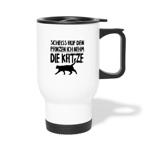 Katze Katzen Katzenliebhaber Geschenk Katzenliebe - Thermobecher