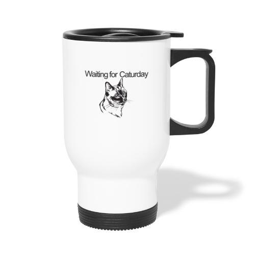 Caturday - Travel Mug