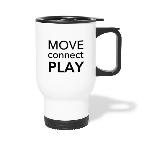 Move Connect Play - AcroYoga International - Thermal mug with handle
