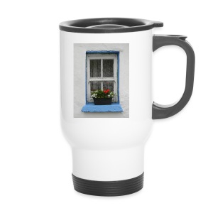 Cashed Cottage Window - Travel Mug