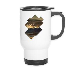 Men's shirt Album Cover - Travel Mug