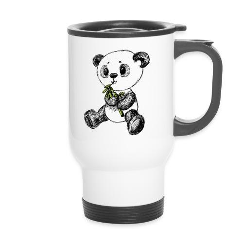 Panda bjørn farvet scribblesirii - Termokrus
