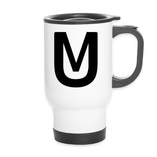 Black Ultimatti Productions Merch Design 2018 - Thermobecher