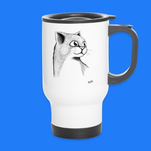 CAT HEAD by AGILL - Mug thermos