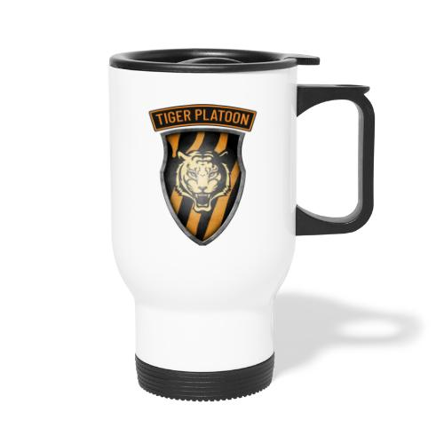 Tiger Patch and Tiger Shield - Thermal mug with handle
