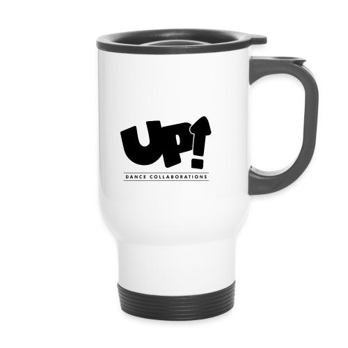 Up Dance Black Logo - Travel Mug