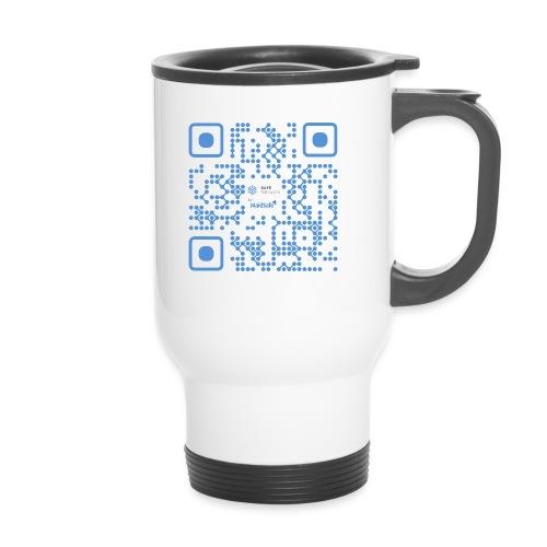 QR Maidsafe.net - Travel Mug