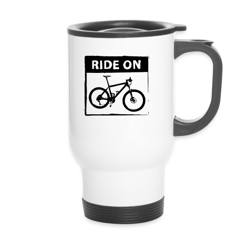 Ride On MTB 1 Color - Thermobecher mit Tragegriff