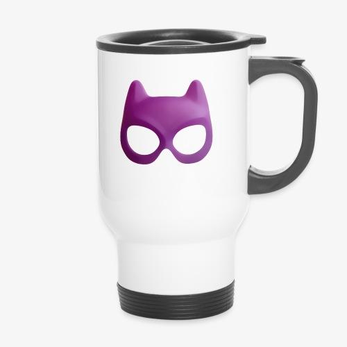 Bat Mask - Kubek termiczny z uchwytem