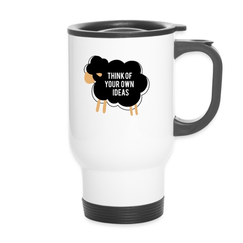 Think of your own idea! - Thermal mug with handle