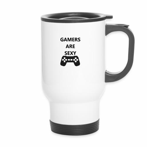GASController - Thermal mug with handle