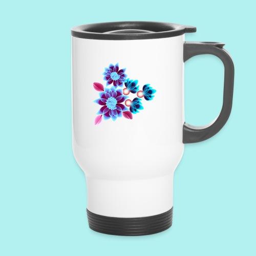Hypnotic flowers - Mug thermos