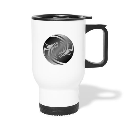 Yin Yang Dragon - Travel Mug