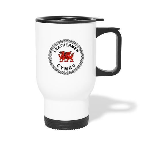 LeatherMen Cymru Logo - Thermal mug with handle
