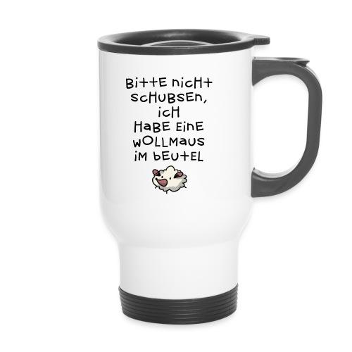 Wollmaus // Beutel - Thermobecher