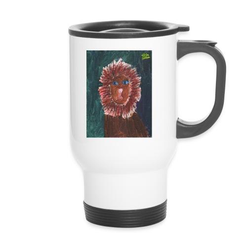 Lion T-Shirt By Isla - Travel Mug
