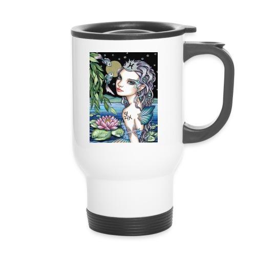 Pisces girl Fische Mädchen - Travel Mug