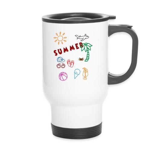 Summer - Kahvallinen termosmuki