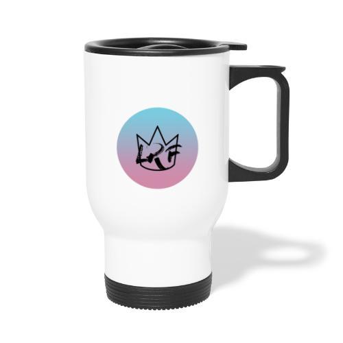 logo lrf rond black casquette - Mug thermos
