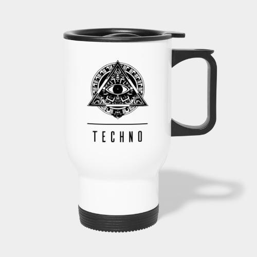 the EYE of TECHNO - Thermobecher mit Tragegriff