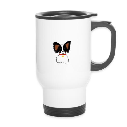 Papillon dog - Travel Mug