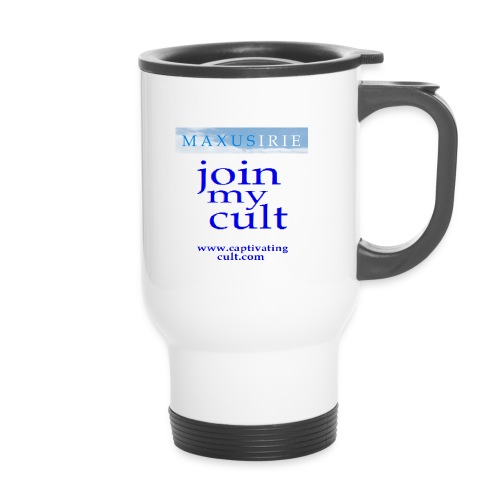 join my cult - Thermal mug with handle