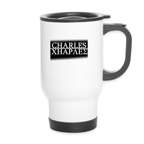 CHARLES CHARLES BLACK AND WHITE - Travel Mug