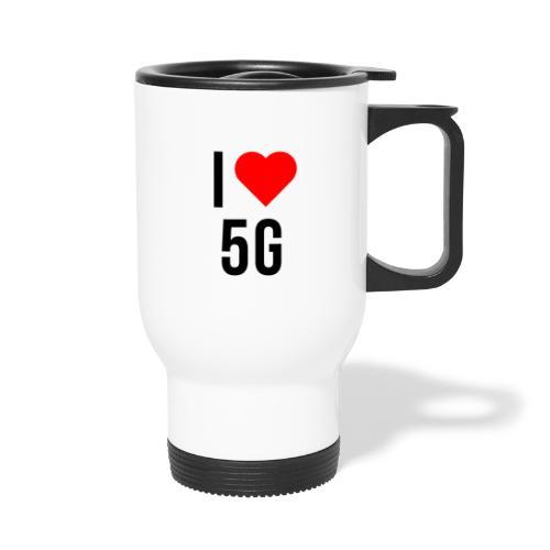 ilove5g - Thermobecher mit Tragegriff