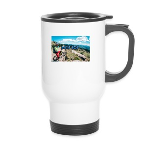 mtb hoddie - Travel Mug