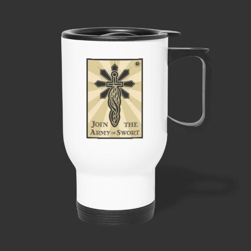 Join the army jpg - Thermal mug with handle